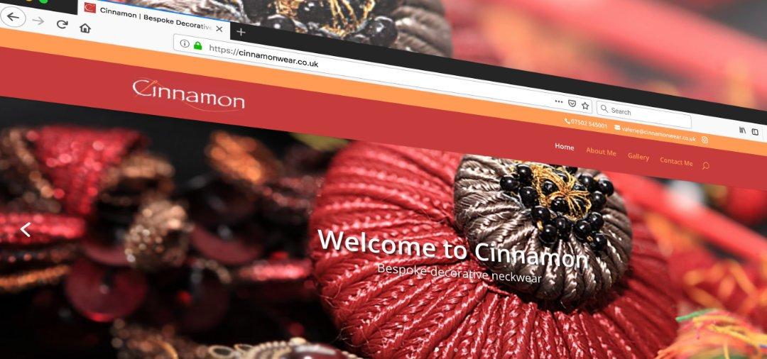 Cinnamon Wear Website launched