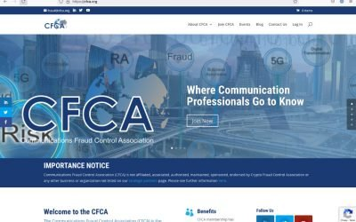 CFCA New Membership Site launched