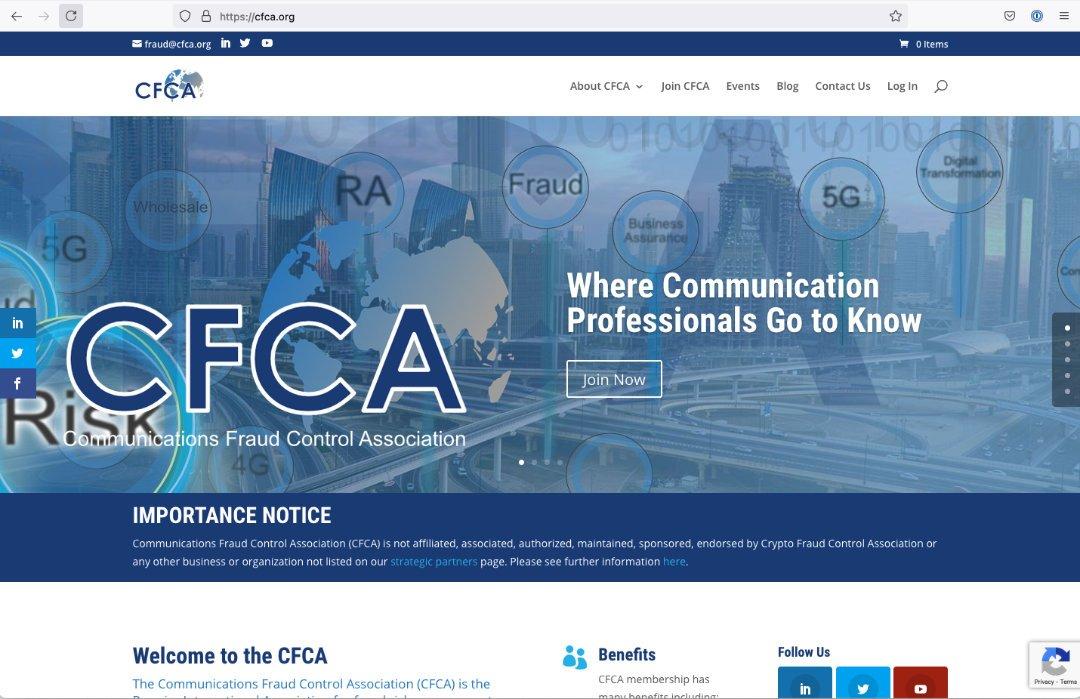 CFCA Website