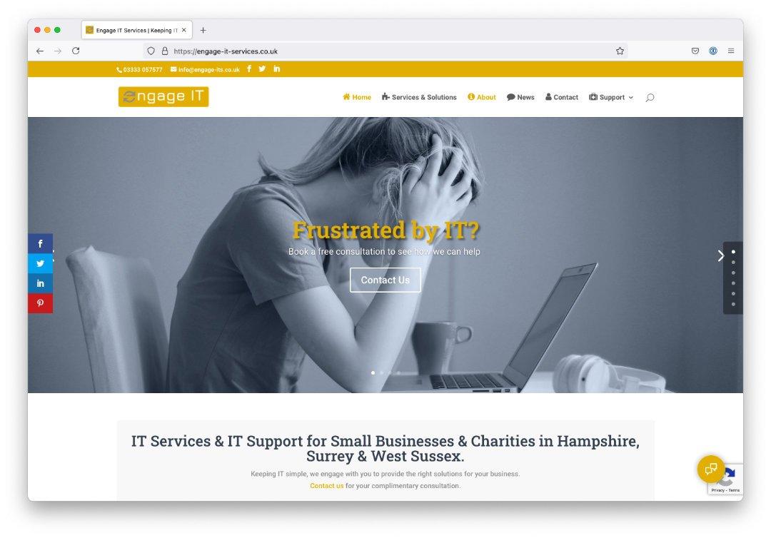 Engage IT Website