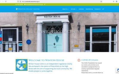 Winton House New Website